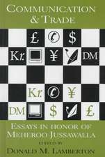 Lamberton:  Communication and Trade-Essays In Honor of Meher