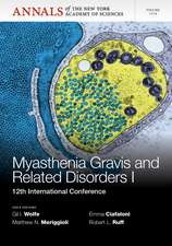 Myasthenia Gravis and Related Disorders I: 12th International Conference, Volume 1274