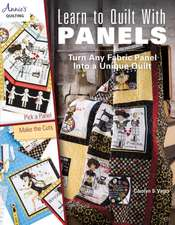 Learn to Quilt with Panels