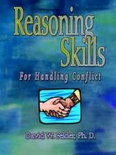 Reasoning Skills for Handling Conflict