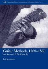 Guitar Methods, 1760–1860 – An Annotated Bibliography
