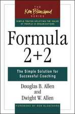 FORMULA 2+2 - THE SIMPLE SOLUT