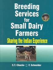 Breeding Services for Small Dairy Farmers:  Sharing the Indian Experience