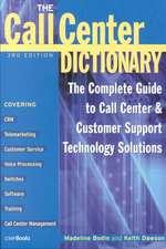 Call Center Dictionary