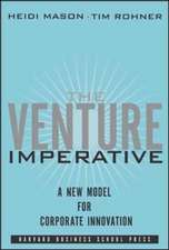 Venture Imperative:  Setting the Stage for Great Performances