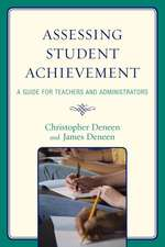 Assessing Student Achievement