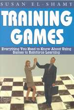 Training Games:  Everything You Need to Know about Using Games to Reinforce Learning