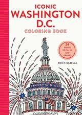 Iconic Washington D.C. Coloring Book
