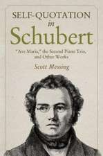 "Self–Quotation in Schubert – ""Ave Maria,"" the Second Piano Trio, and Other Works"