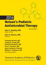 2016 Nelson's Pediatric Antimicrobial Therapy, 22nd Edition
