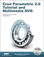 Creo Parametric 2.0 Tutorial and Multimedia DVD