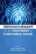 Psychotherapy for the Treatment of Substance Abuse [With DVD]