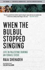 When the Bulbul Stopped Singing