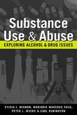 Mignon, S:  Substance Use and Abuse