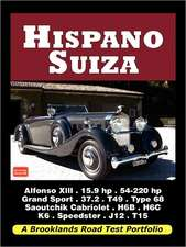 Hispano Suiza - Road Test Portfolio