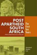 Post apartheid South Africa: the first ten years