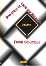 Progress in Computer Research, Volume 1