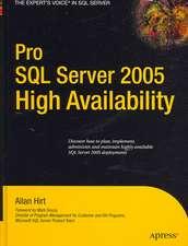 Pro SQL Server 2005 High Availability