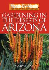 Month by Month Gardening in the Deserts of Arizona