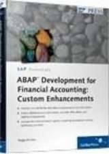 ABAP DEVELOPMENT FOR FINANCIAL
