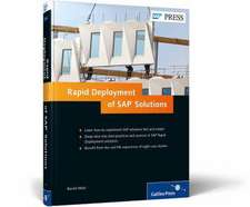Rapid Deployment of SAP Solutions