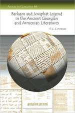 The Barlaam and Josaphat Legend in the Ancient Georgian and Armenian Literatures