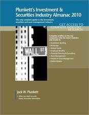 Plunkett's Investment & Securities Industry Almanac 2010