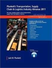 Plunkett's Transportation, Supply Chain & Logistics Industry Almanac 2011