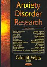 Anxiety Disorder Research