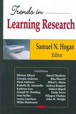 Trends in Learning Research