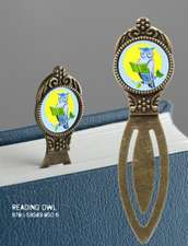 Book Lover's Bookmark - Reading Owl