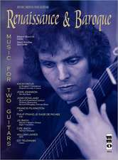 Renaissance & Baroque: Music for 2 Guitars [With CD (Audio)]