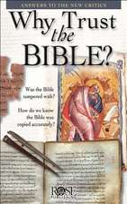 Why Trust the Bible? 5pk