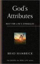 God's Attributes:  Rest for Life's Struggles