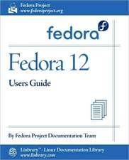 Fedora 12 User Guide