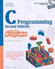 C PROGRAMMING FOR THE ABSOLUTE