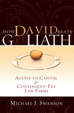 How David Beats Goliath:  Access to Capital for Contingent-Fee Law Firms