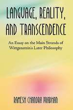 Language, Reality, and Transcendence