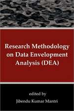 Research Methodology on Data Envelopment Analysis (Dea):  Evolution of Urban Forms