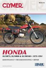Honda XL/XR75, XL/XR80 & XL/XR100 1975-1991