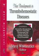New Developments in Thrombohemostatic Diseases