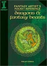 Fantasy Artist's Pocket Reference: Dragons & Fantasy Beasts