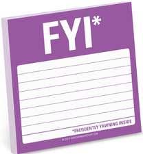 FYI Sticky Note