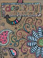Doodling for Papercrafters SC (Leisure Arts #4313):  8 Embroidered and Beaded Projects