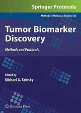Tumor Biomarker Discovery: Methods and Protocols