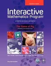 Imp 2e Y1 the Game of Pig Teacher's Guide