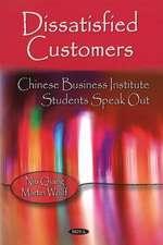 Dissatisfied Customers