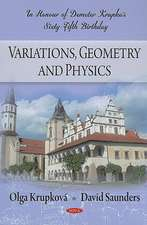 Variations, Geometry and Physics