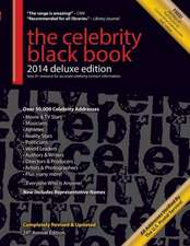 The Celebrity Black Book 2014