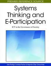 Systems Thinking and E-Participation